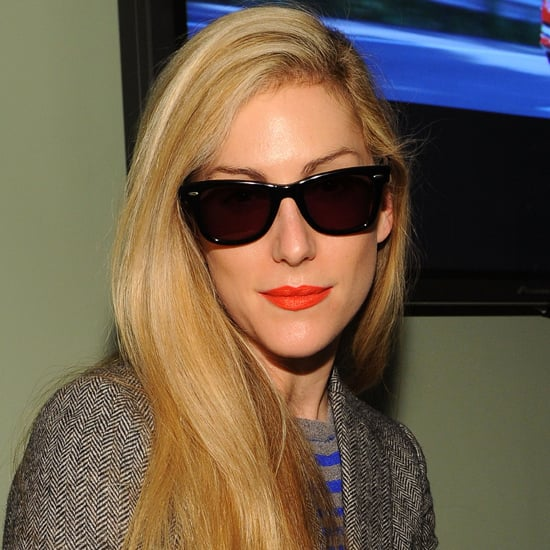 Joanna Hillman's Signature Orange Lipstick Revealed