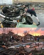 Headline: Tornadoes Rip Through The South