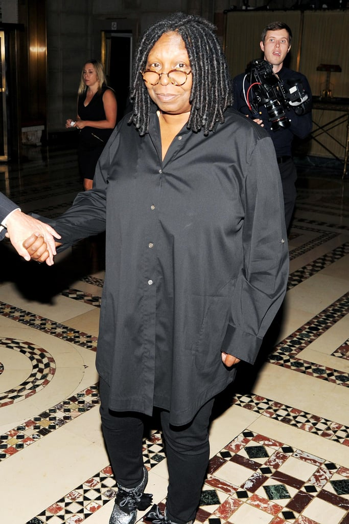 Whoopi Goldberg attended the Save the Children benefit gala in NYC.