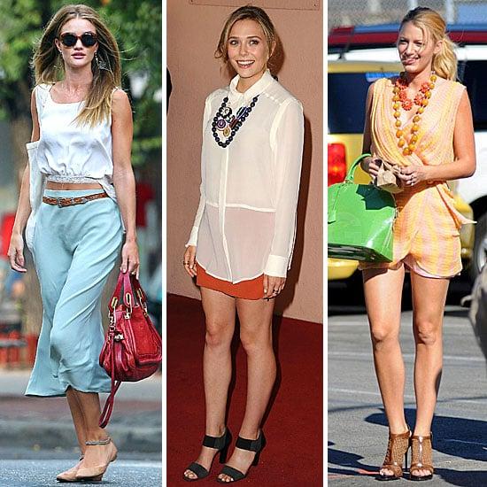 Celebrity Style Quiz For Aug 6 2011 Popsugar Fashion