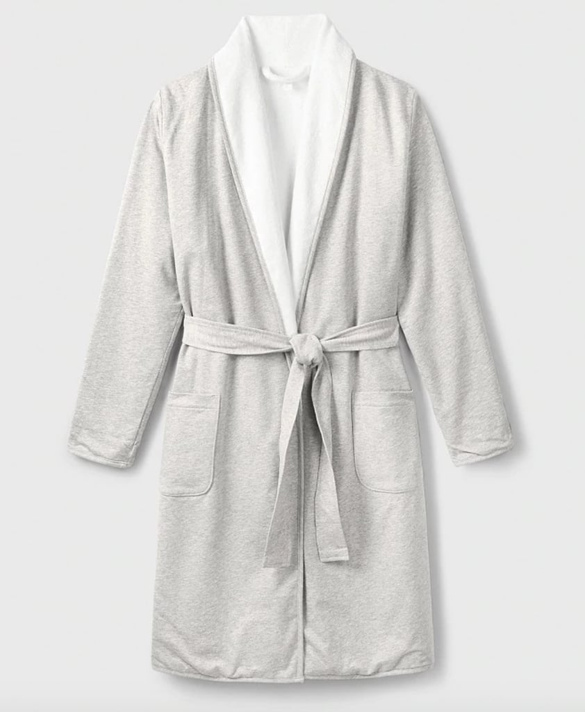 The White Company Double Faced Jersey Robe