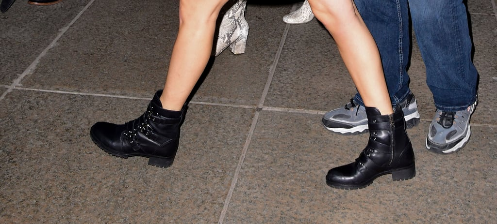 a7b1182a Taylor Swift Prada Combat Boots | POPSUGAR Fashion Photo 6