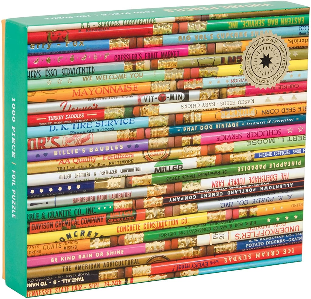 Galison Phat Dog Vintage Library 1000-Piece Jigsaw Puzzle