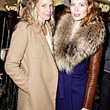 Meredith Melling Burke and Jessica Joffe at Diane von Furstenberg's holiday capsule collection launch.