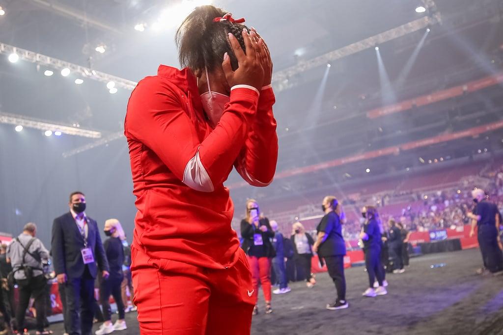 Jordan Chiles's Emotional Reaction to Making 2021 Olympics