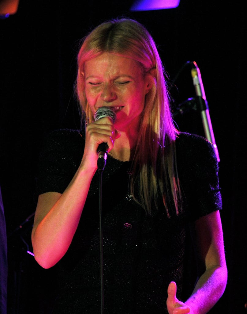 Gwyneth Paltrow gave a song her all for Prince Philip.