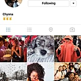 This is how a gallery on Instagram will look.