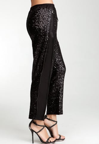 Score comfort and style in these Bebe Sequin Drawstring Pants ($65, originally $129).