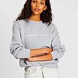Assembly Label Logo Fleece Sweater ($90)