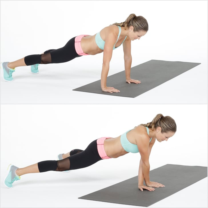 Side Walking Plank Bodyweight Workout For Legs And Abs