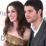 Anne Hathaway and Jim Sturgess at One Day Premiere in New York