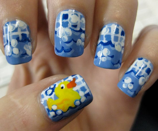 Rubber Ducky Blogger Creates New Nail Art Design Each Day For A