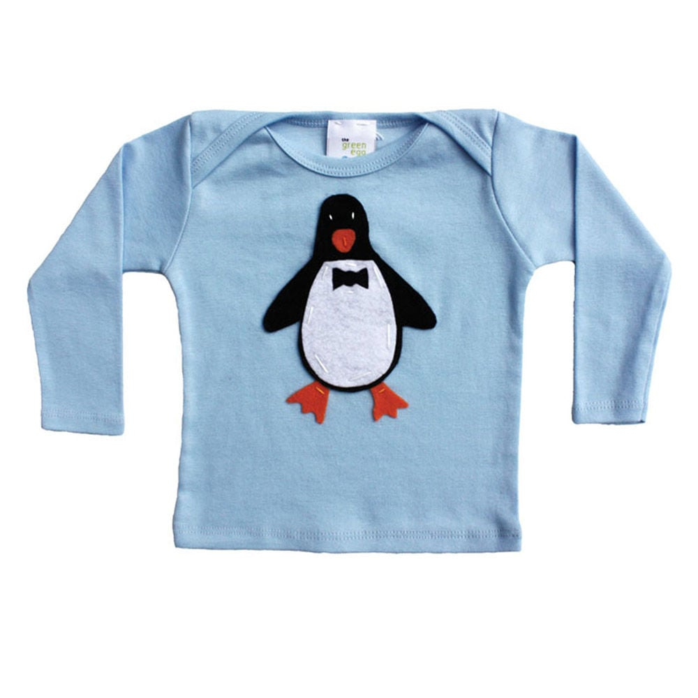 Green Egg Tee Penguin Tee