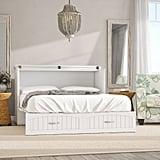 Beachcrest Home Emil Queen Storage Murphy Bed With Mattress
