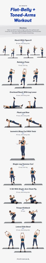 image relating to Printable Arm Workouts referred to as Incorporate Some Weights towards Your Fingers and Ab muscles Training Printable