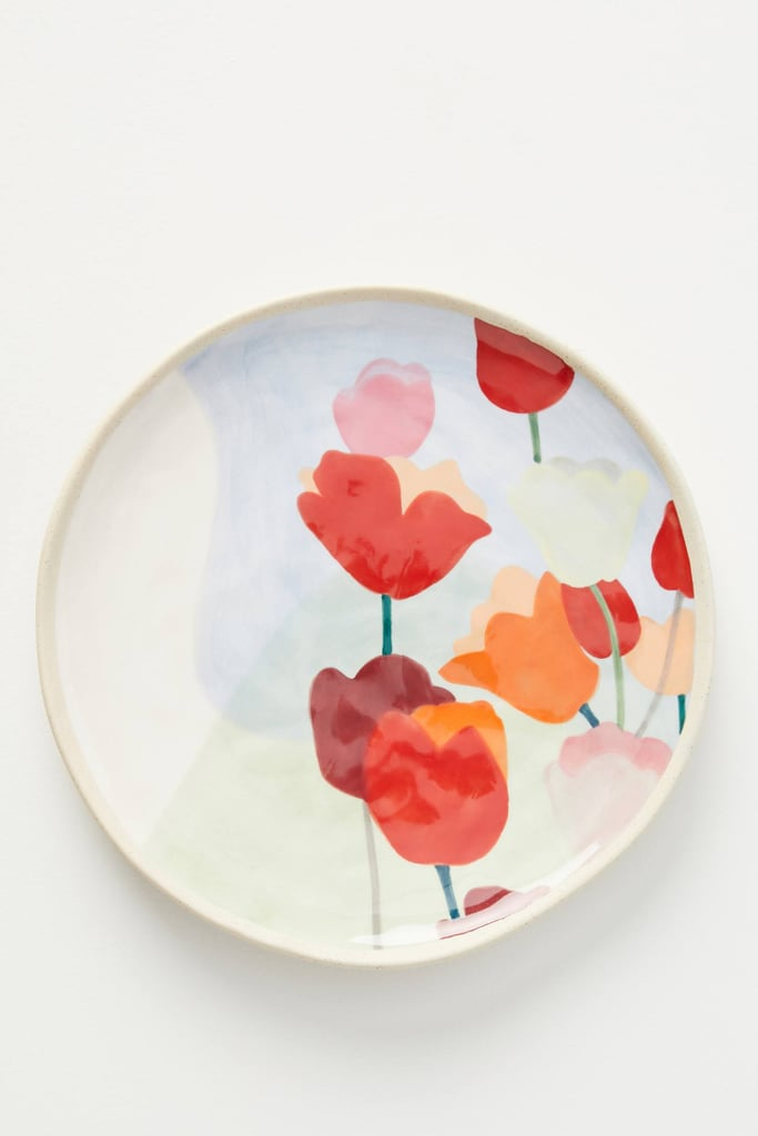 Tulip Side Plates, Set of 4