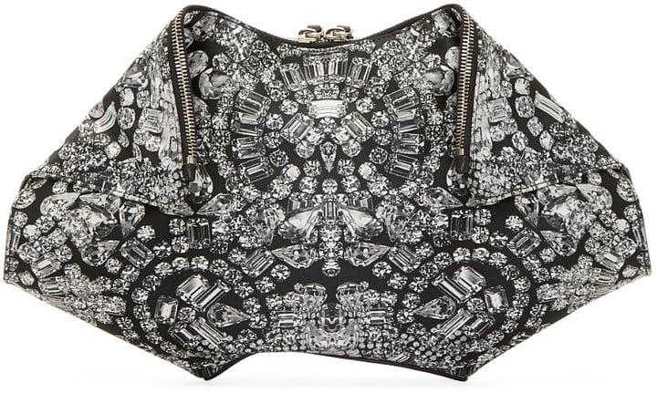 Alexander McQueen Jewel Large De Manta Clutch  ($368)