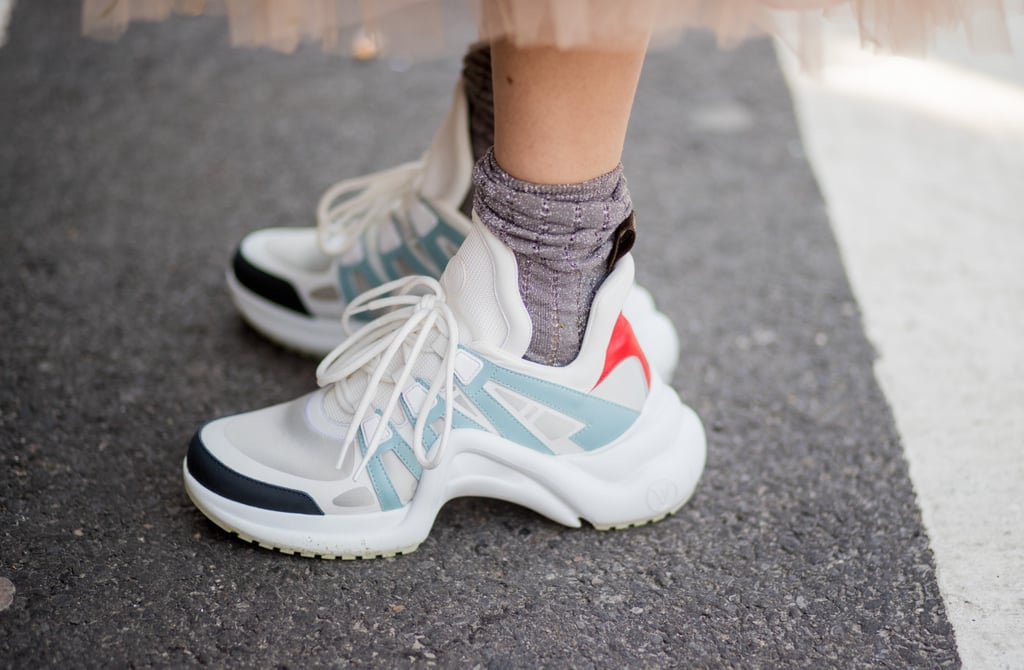 Dad Sneakers at Fashion Week Fall 2018
