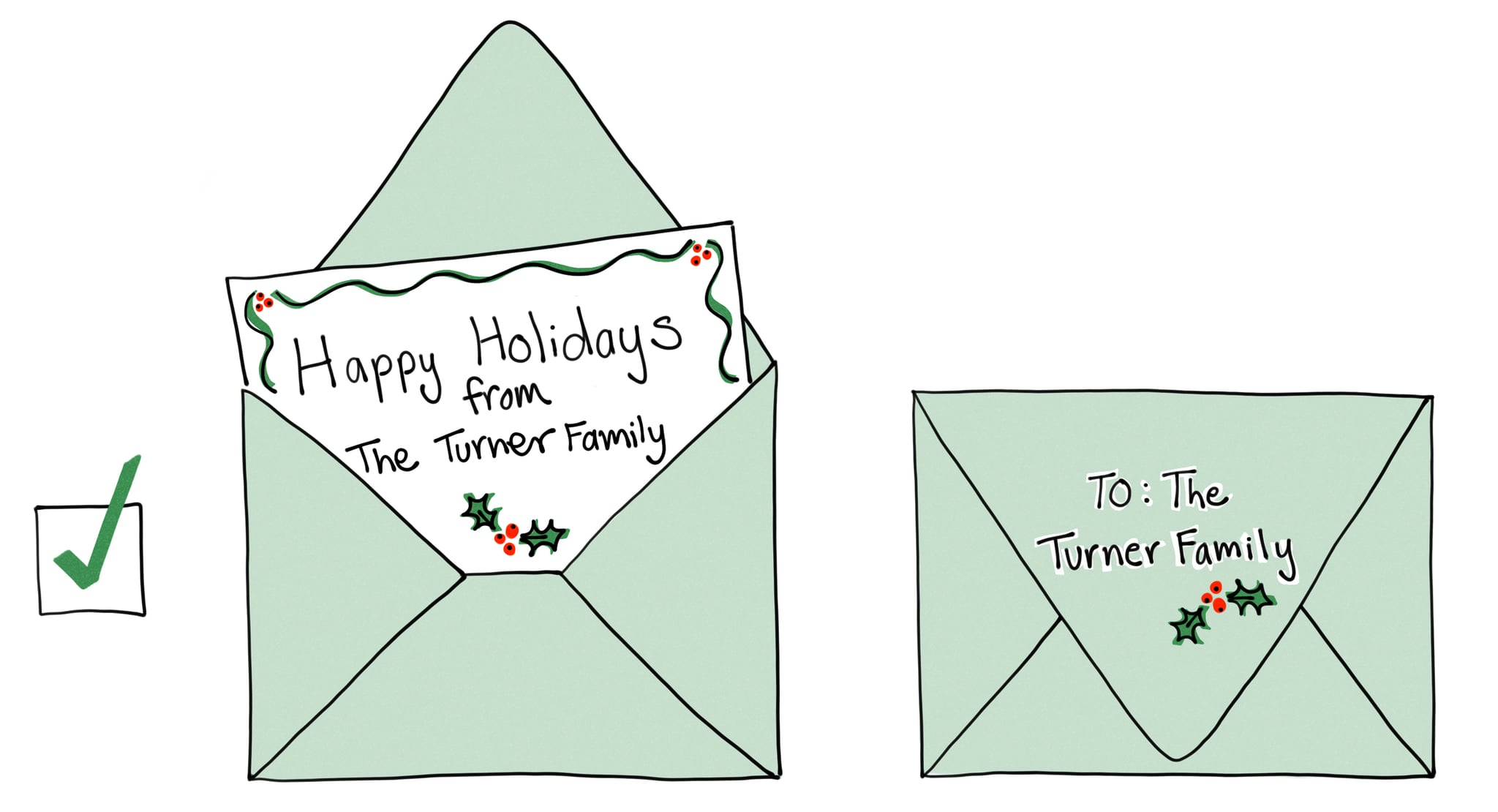 How to make last names plural on holiday cards popsugar family and spread warm greetings and holiday cheer not poor grammar this season m4hsunfo