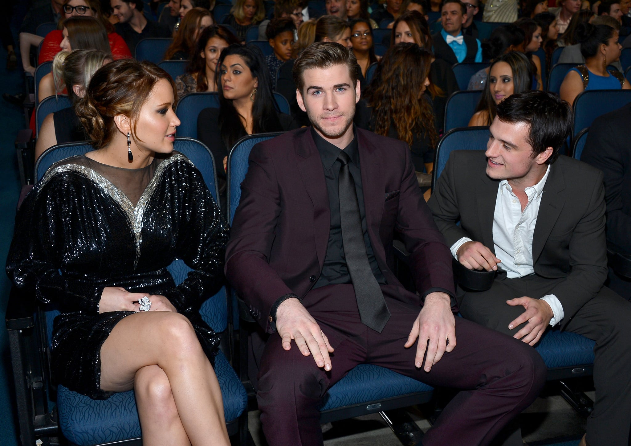 Fun Celebrity Snaps Inside the People's Choice Awards