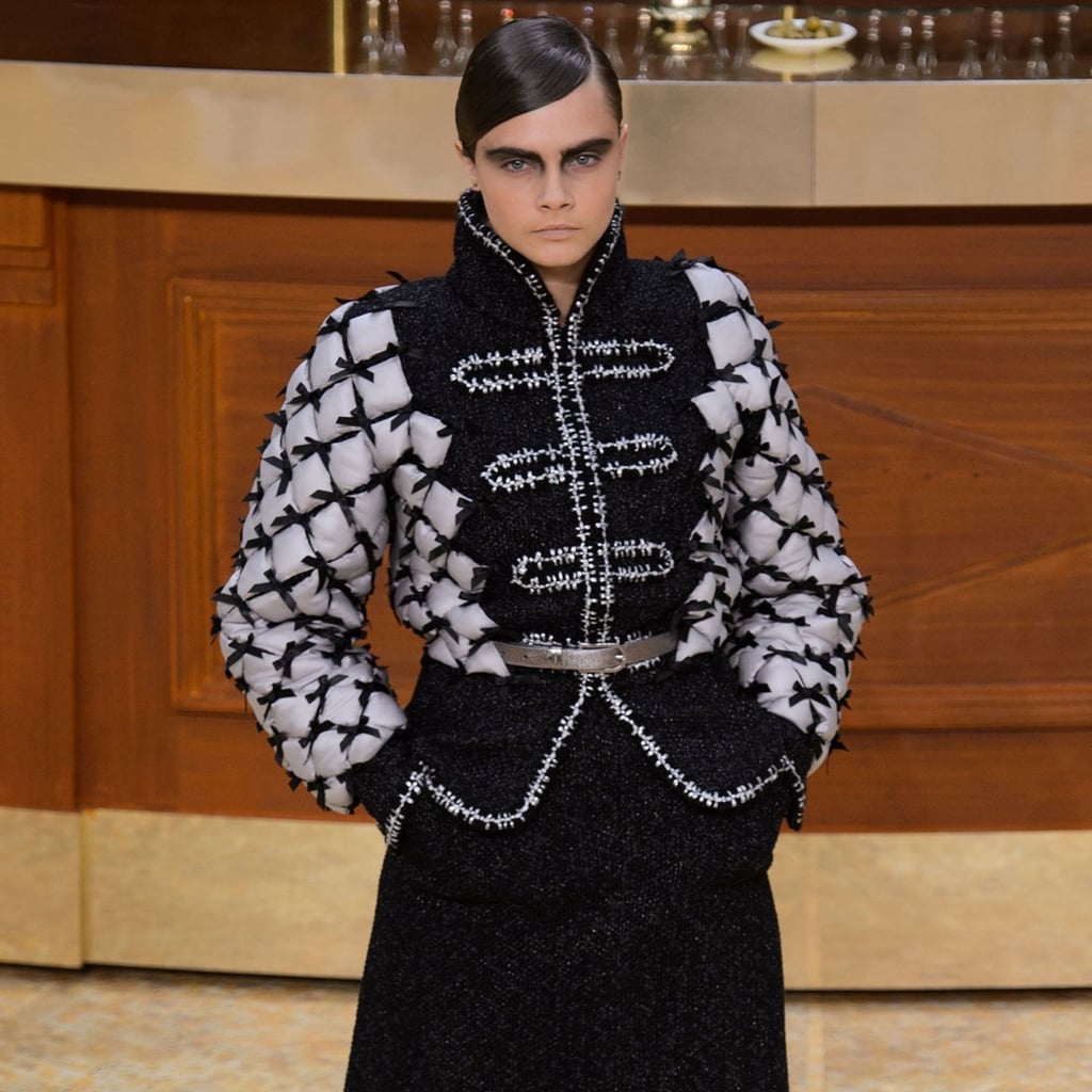 Karl Lagerfeld Transforms the Chanel Runway Into a Restaurant