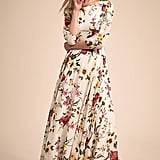 Anthropologie Woodstock Maxi Dress