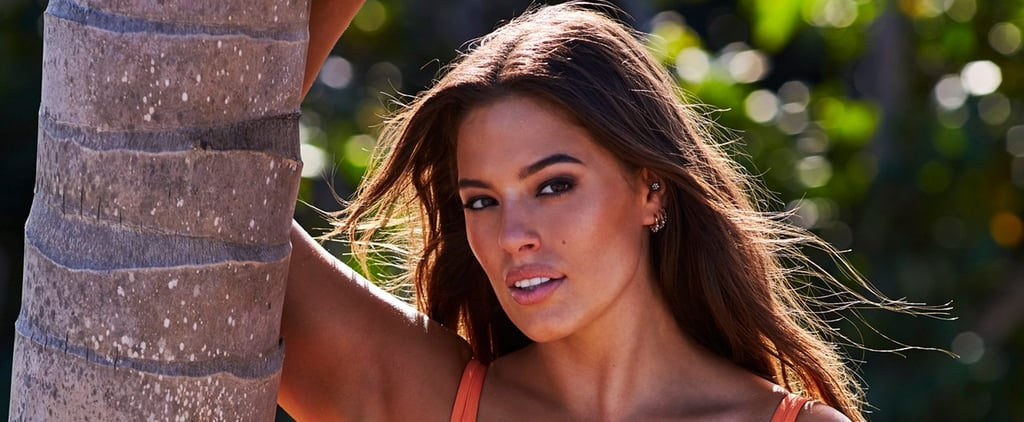 Ashley Graham's Orange Bikini in Sports Illustrated 2018