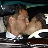 Drew Barrymore and Will Kopelman Share a Romantic Postwedding Kiss!