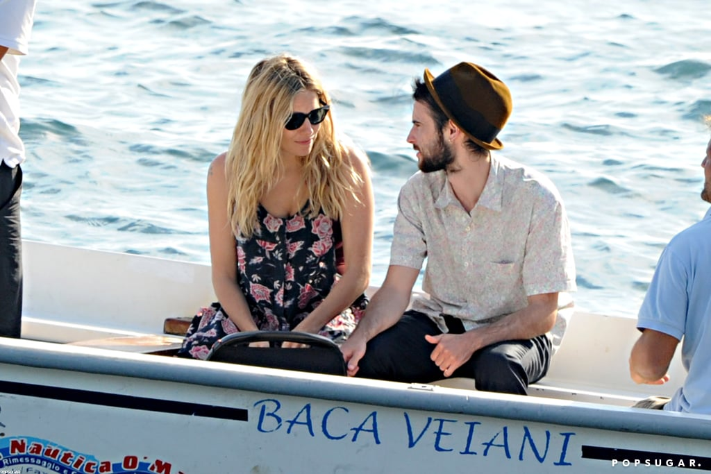 Sienna Miller and Tom Sturridge brought baby Marlowe along with them on a family getaway to Positano.