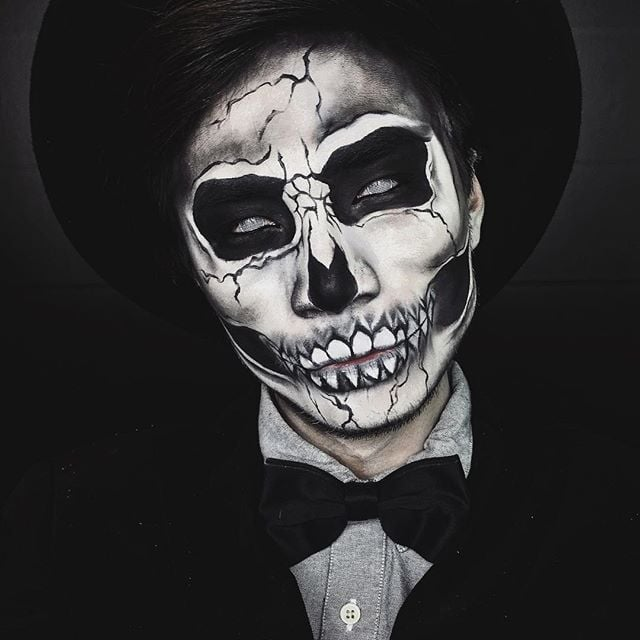 Skeleton Makeup  POPSUGAR Beauty
