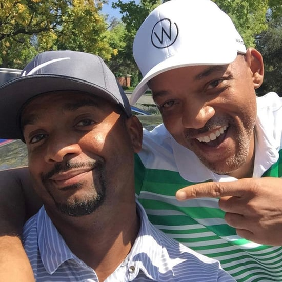 Will Smith Alfonso Ribeiro's Fresh Prince Reunion Photo 2018
