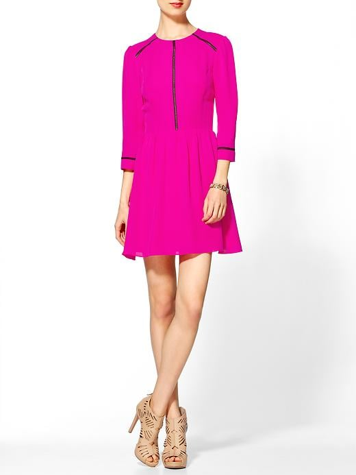 This Dolce Vita Ives long-sleeved dress ($220, originally $275) doesn't short on the statement factor, thanks to its gorgeous fuchsia hue. Thanks to its fit-and-flare silhouette, it's also entirely wearable and entirely flattering.