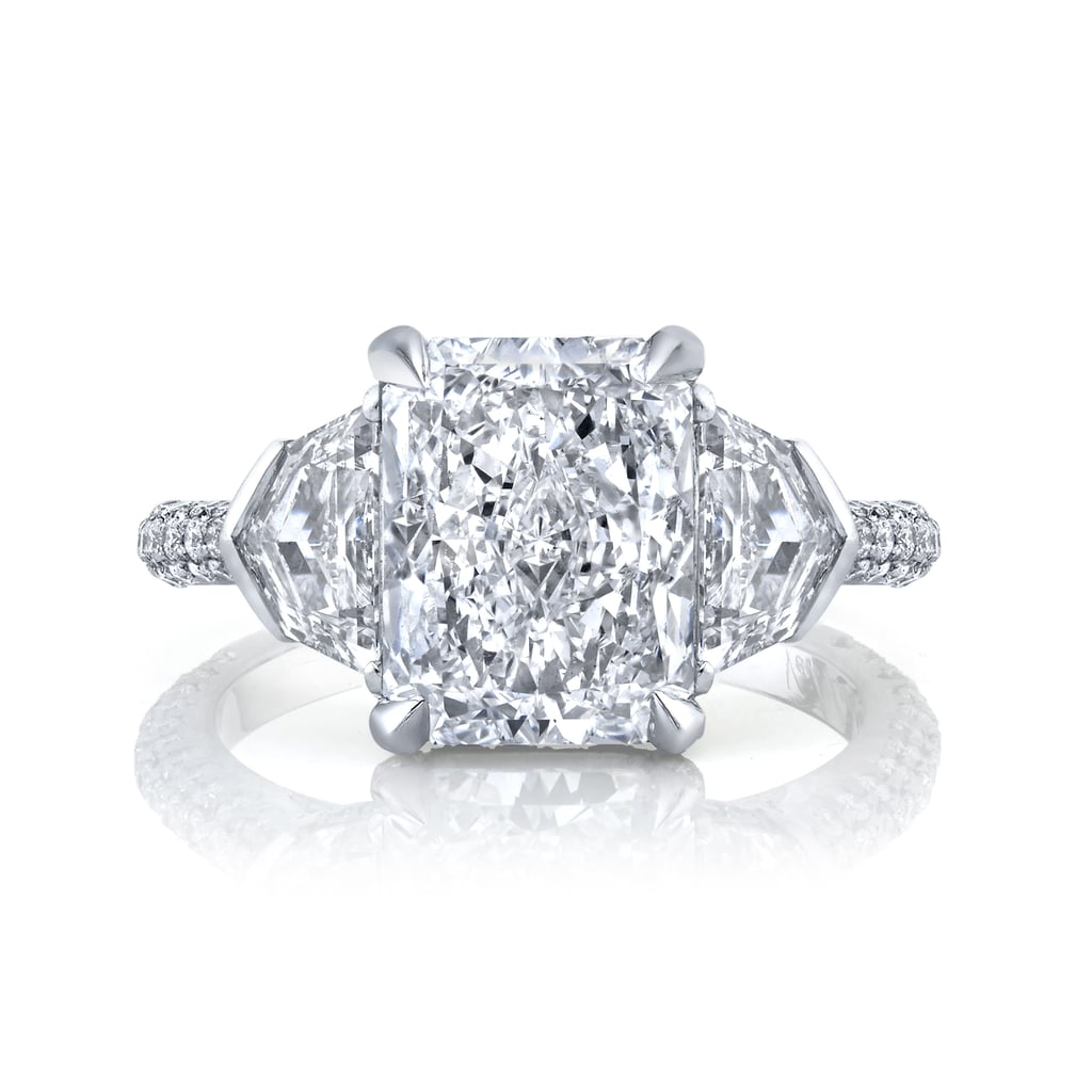 Clare's 4.5 Carat Neil Lane Engagement Ring From Dale