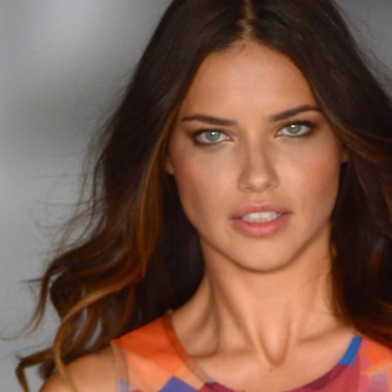 Adriana Lima Gets Fit For the Victoria's Secret Fashion Show With Boxing!