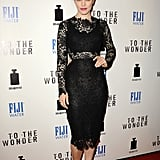 Rachel McAdams wore Maria Lucia Hohan at the To the Wonder premiere in West Hollywood.