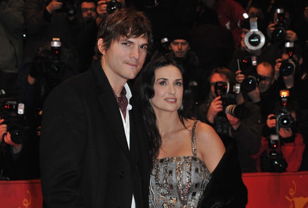 Demi and Ashton at the Berlin Film Festival