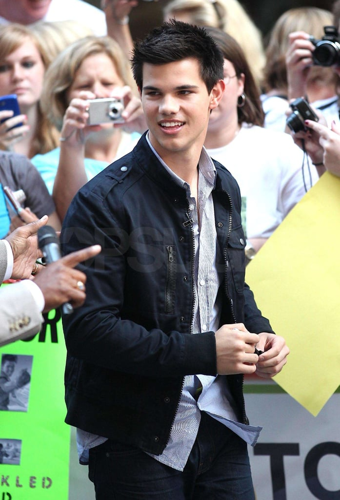 Taylor Lautner Promoting Eclipse on The Today Show