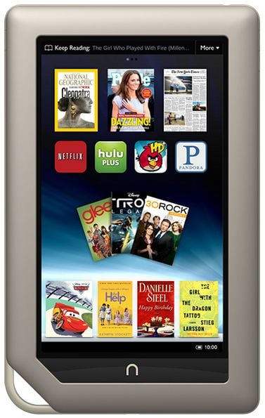 """Nook Tablet Gets Official, Expected """"Late Next Week"""""""