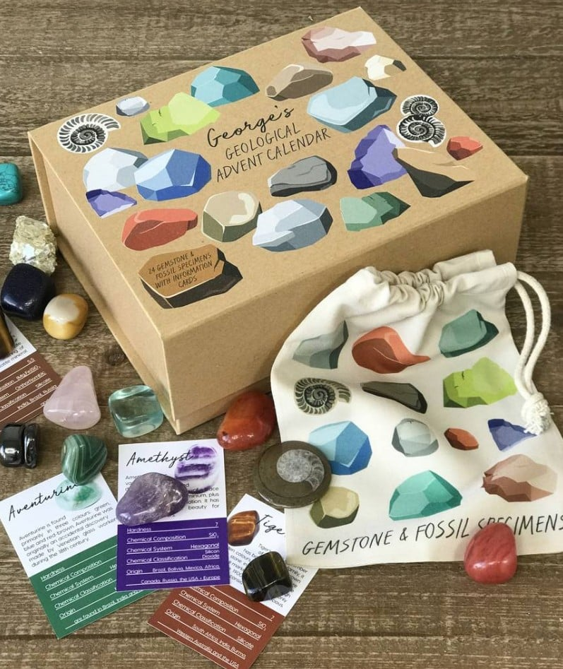 Crystal Gemstone Advent Calendar