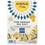 Simple Mills Almond Flour Sea Salt Crackers, 8.5 oz., 2-count