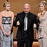 Mark Kelly spoke at the Glamour Women of the Year Awards.