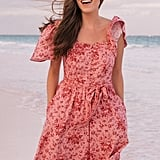 Gal Meets Glam Collection Marianna Floral-Print Dress