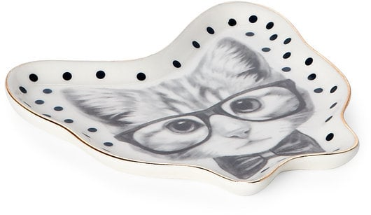 Tri Coastal Ceramic Cat Dish ($12)
