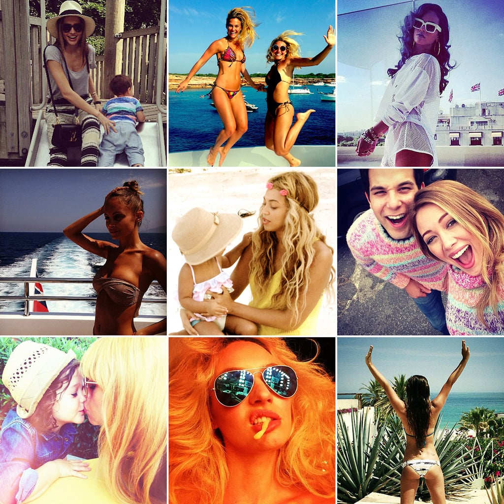 Best Celebrity Instagram Pictures July 2013