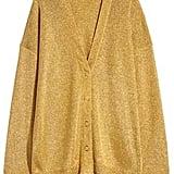 H&M Shimmering Metallic Cardigan