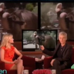 Reese Witherspoon on Ellen Talking About Elephants