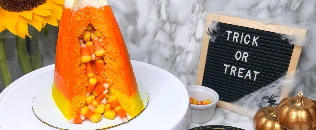 Candy Corn Cake Recipe With Photos