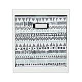 Fabric Cube Storage Bin Aztec Print