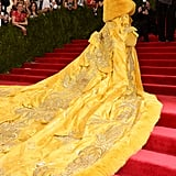 Rihanna's Dress at the Met Gala 2015