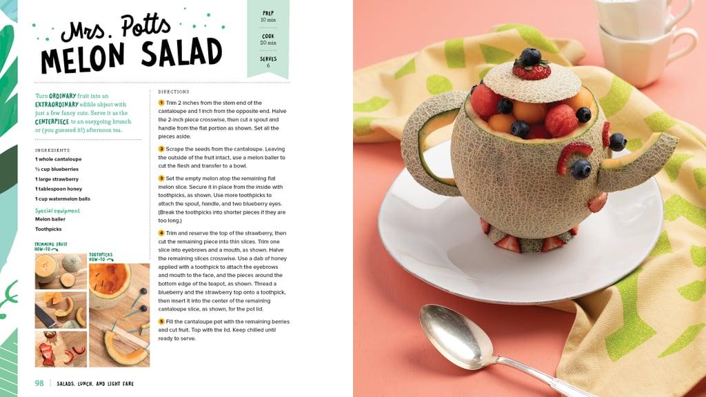 Mrs. Potts Melon Salad